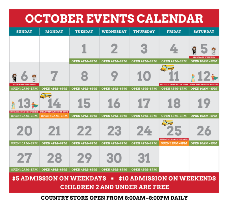 October Calendar | Jerry Smith